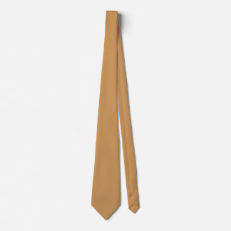 Only khaki tan classic solid color OSCB39 Tie