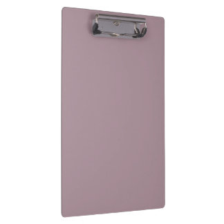 Only Lavender dusty pretty solid color background Clipboard