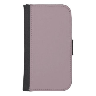Only Lavender dusty pretty solid color background Phone Wallets