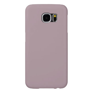 Only Lavender dusty pretty solid color Samsung6 Samsung Galaxy S6 Cases