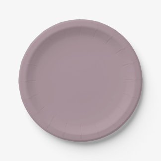 Only Lavender dusty solid color OSCB08 Paper Plate