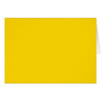 Only lemon yellow pretty solid color OSCB09 Card