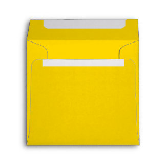 Only lemon yellow pretty solid color OSCB09 Envelope