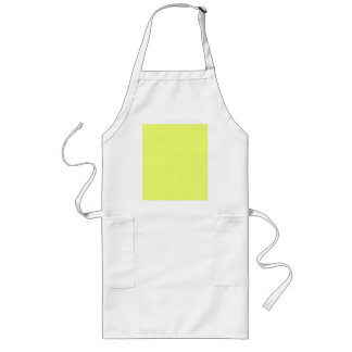 Only lime yellow cool solid color OSCB20 Long Apron