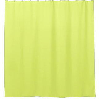 Only lime yellow cool solid color OSCB20 Shower Curtain