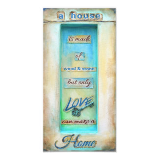 Only Love Can Make A Home | Photo Print