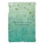 Only Love let's us see things... iPad Mini Cases