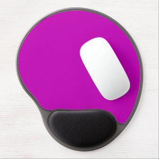 Only magenta pink stylish solid color OSCB34 Gel Mouse Pad