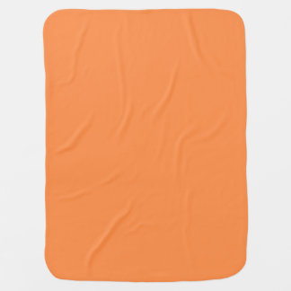 Only Melon solid color baby blanket