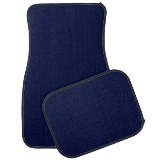 Only navy blue gorgeous solid color OSCB13 Car Mat