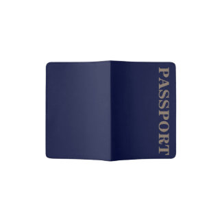Only navy blue gorgeous solid color OSCB13 Passport Holder