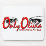 Only Olivia Mouse Pad