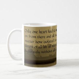 """""""Only one heart..."""" Coffee Mug"""
