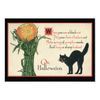 Only One Life To Live Vintage Halloween Card