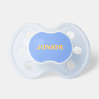 Only Pale blue solid color custom baby pacifiers