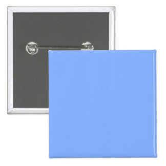 Only pale blue stylish solid color background 2 inch square button