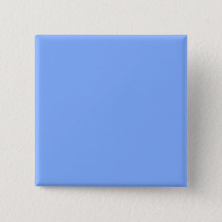 Only pale blue stylish solid color background pinback button