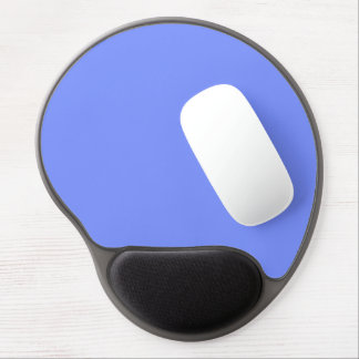 Only periwinkle blue elegant solid color OSCB32 Gel Mouse Pad
