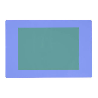 Only Periwinkle blue solid color panel OSCB32 Placemat