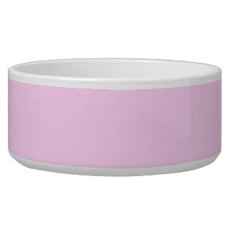 Only pink pretty solid color background bowl