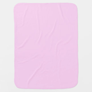 Only pink pretty solid color OSCB14 Swaddle Blanket