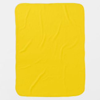 Only pretty lemon yellow baby blanket
