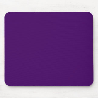 Only purple deep cool solid color background mouse pad