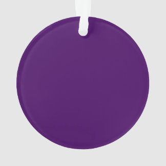 Only purple deep cool solid color background ornament