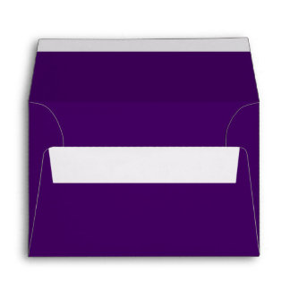 Only purple deep cool solid color OSCB15 Envelopes