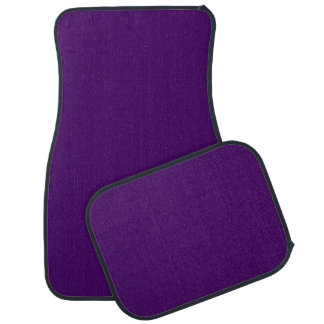 Only purple deep cool solid color OSCB15 Floor Mat