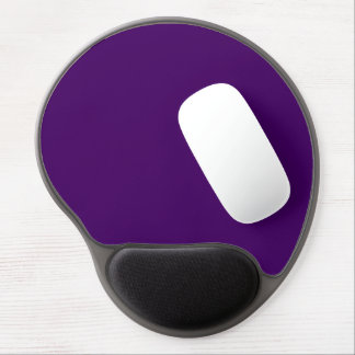Only purple deep cool solid color OSCB15 Gel Mouse Pad