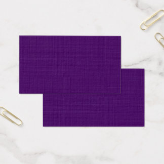 Only Purple deep solid color Business Card
