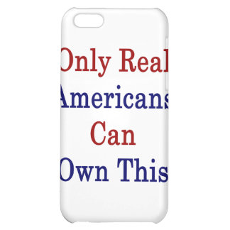 Only Real Americans Can Own This iPhone 5C Cases