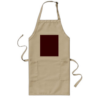 Only red brick gorgeous solid color OSCB16 Long Apron