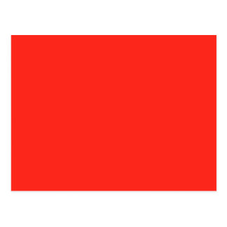 Only Red crimson solid color   A blank slate Postcards