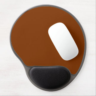 Only red rust vintage solid color OSCB47 Gel Mouse Pad