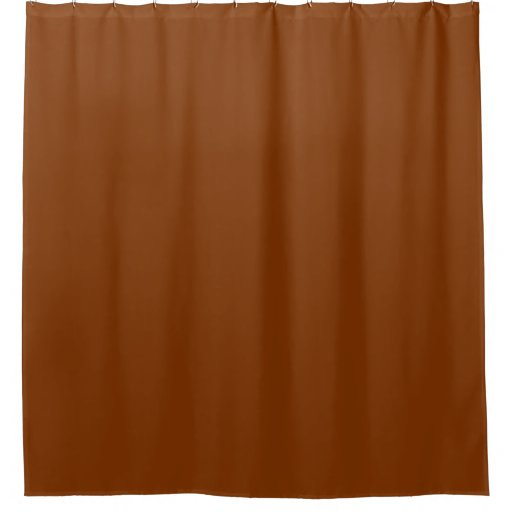 only red rust vintage solid color oscb47 shower curtain