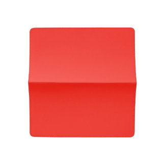 Only red tomato modern solid color OSCB35 Checkbook Cover