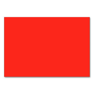 Only red tomato rustic solid color backgrounds table cards