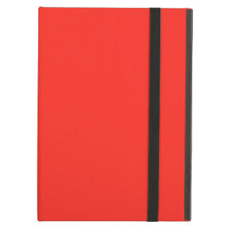Only red tomato rustic solid color case for iPad air