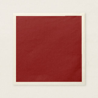 Only Red Wine solid color   A blank slate Paper Napkins