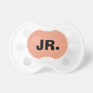 Only salmon pink pretty solid color OSCB17 Pacifier