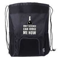 Only Science Can Save Me Drawstring Backpack