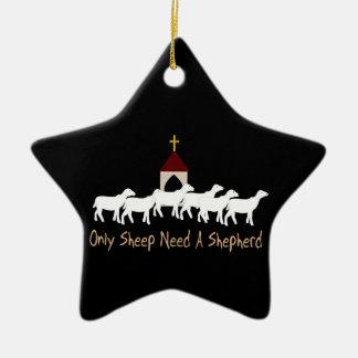 Only Sheep Need Shepherd Ornaments