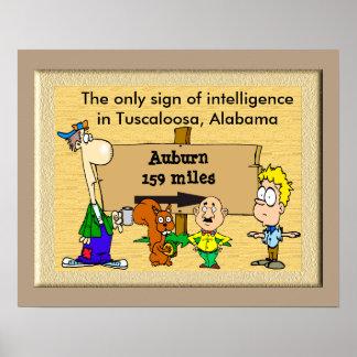 Only sign intelligence _ Tuscaloosa
