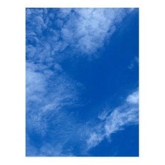 Only sky postcard