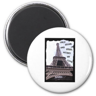 Only Stone and Steel 2 Inch Round Magnet
