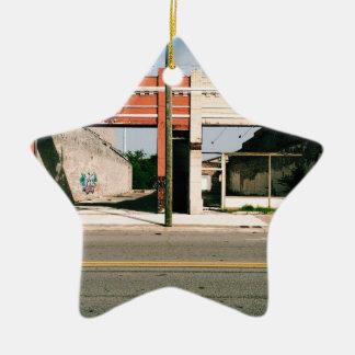 Only Storefronts Remain - Gadsden, AL Ceramic Ornament