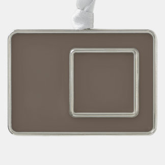 Only Taupe b gorgeous solid color OSCB22 Ornament