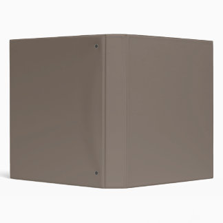 Only Taupe b solid color custom binders